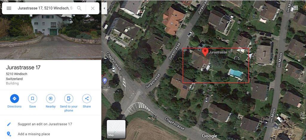 Kittiyakorn Switzerland address Jurastrasse 17 5210 Windisch Switzerland